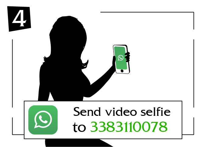Send video selfie friuli-venezia giulia to
