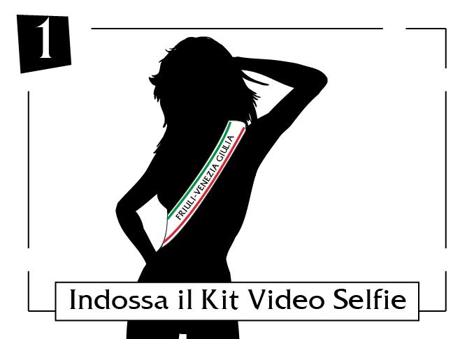 Indossa il tuo kit video selfie